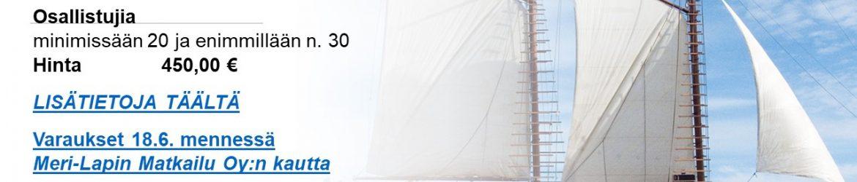 2021 elokuun Purjehdusretki Perämeren Jähdillä